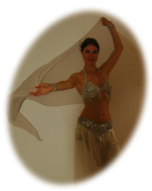 Buikdanseres Gunesh geeft buikdansles in Amersfoort